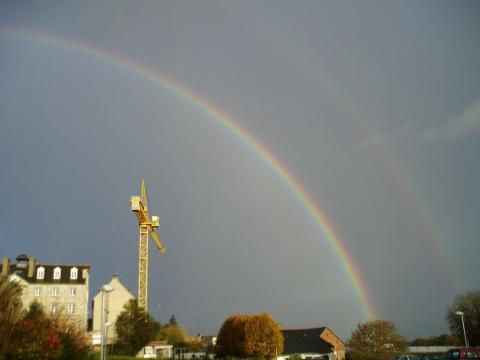Double rainbow grue