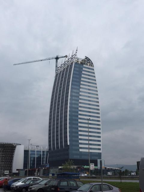20141113 - La tour bombée Sofia Bulgarie