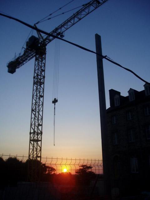 Crane Sunset Saint-Ilan - AurélienVinot