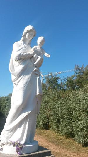 La vierge à l'enfant-