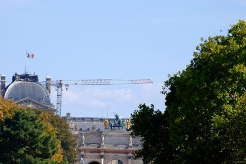 La grue du Louvre