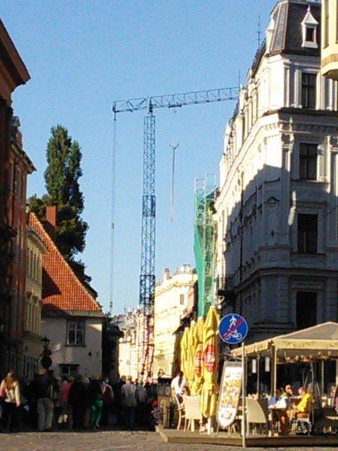 Un rayon de soleil à Riga