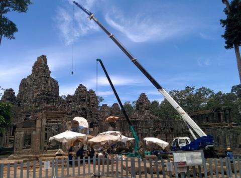 Le chantier du temple