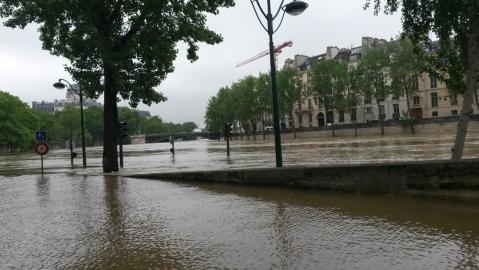 Feux inondés