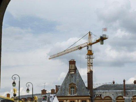 La grue du Chateau de Fontainebleau