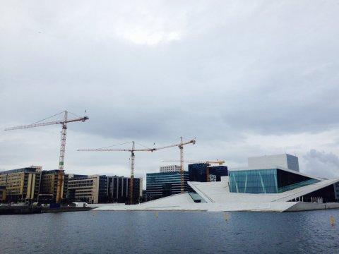 Grues opéra Oslo