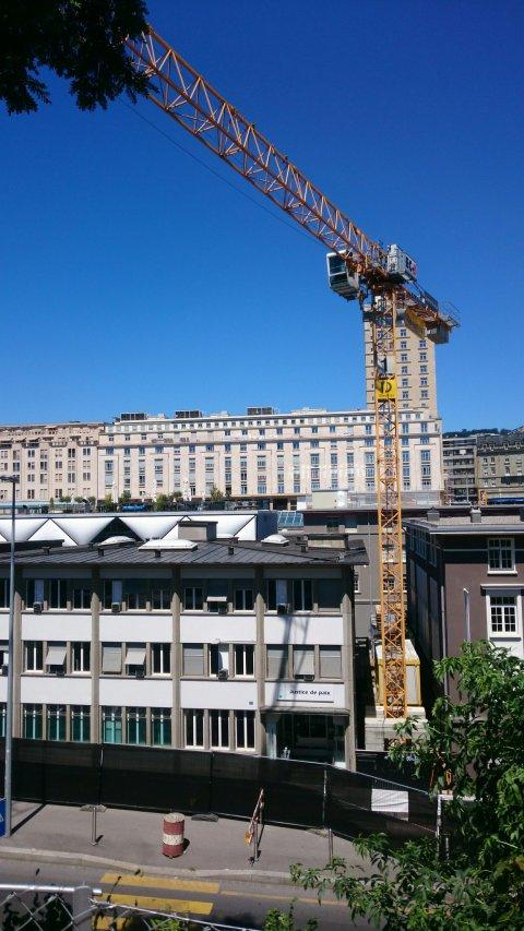 Justice de paix en travaux - Lausanne