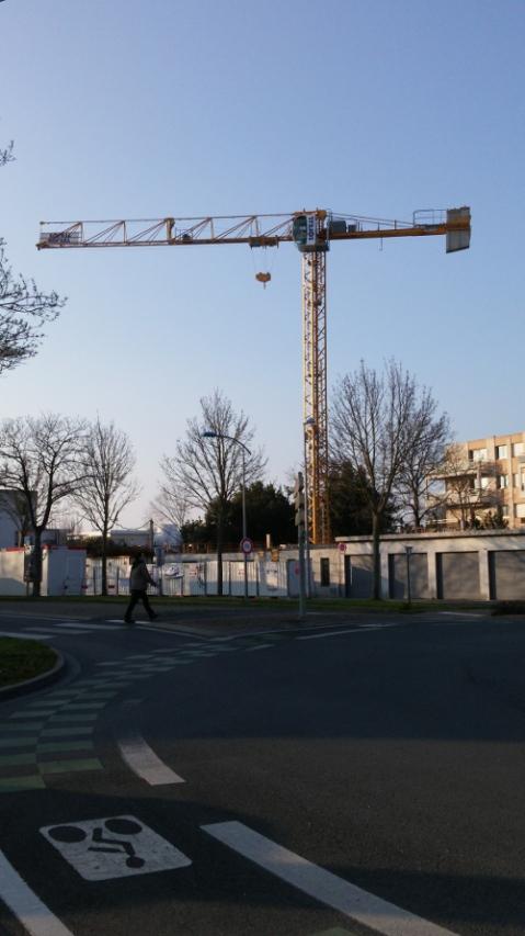 La piste cyclable boulevard de Cognehors