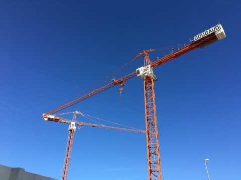 Triangle de grues